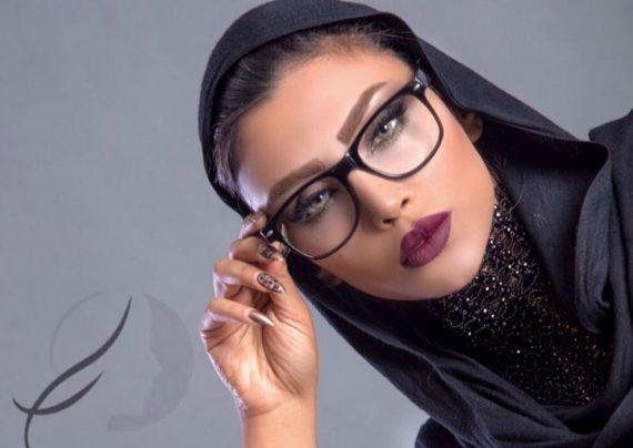 کشف حجاب مدل ایرانی در دوبی+عکس