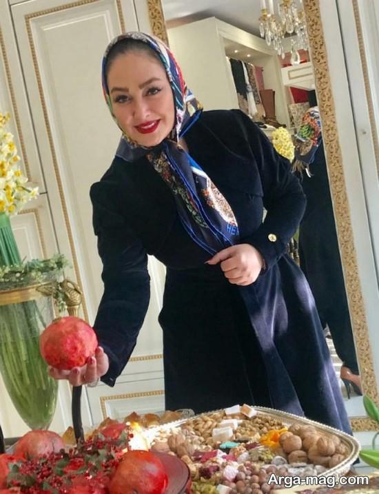 الهام حمیدی بازیگر محبوب کشور