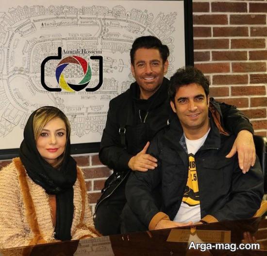 عکس های دیماه 96 رضا گلزار