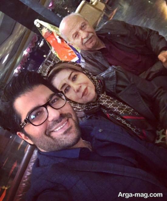 حامد همایون و والدینش