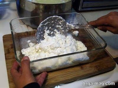 له کردن پنیر