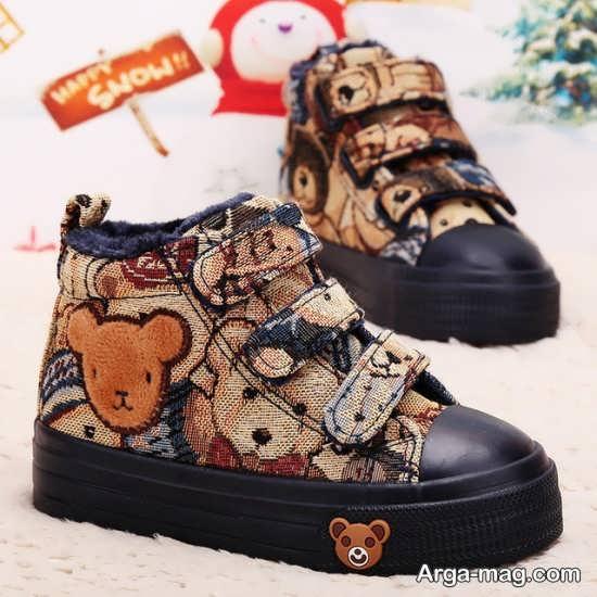 کفش زیبا و شک بچه گانه