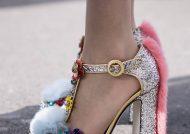 تزیین کفش زنانه با روش مختلف