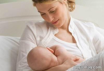 دلایل کم شدن شیر در مادران