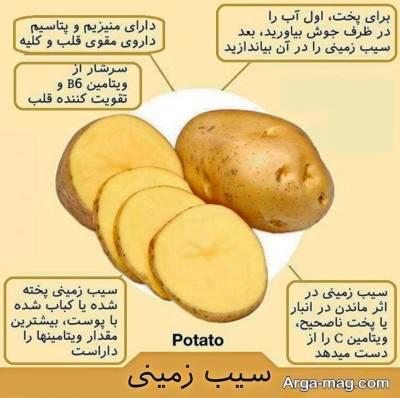 خواص سیب زمینی برای مو و رشد سریع مو با آب سیب زمینی