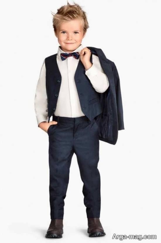 kids boys 17 - مدل کت و شلوار بچه گانه برای مهمانی ها