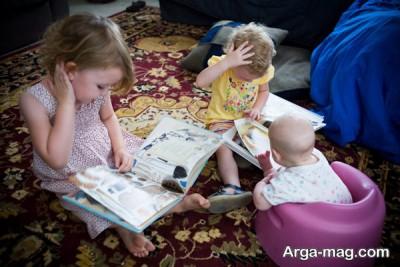 کتاب خوانی مشارکتی برای کودکان