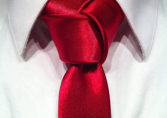 مدل بستن کراوات سه گره