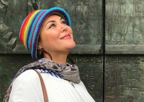 عکس های تازه منتشر شده از لاله اسکندری و همسرش در ارمنستان