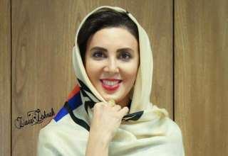 عکس های جدید لیلا بلوکات در روز هیجان انگیز برفی تهران