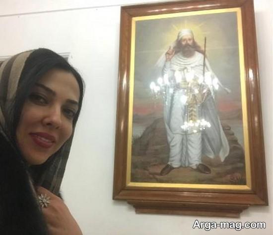 لیلا اوتادی بازیگر 34 ساله ایران