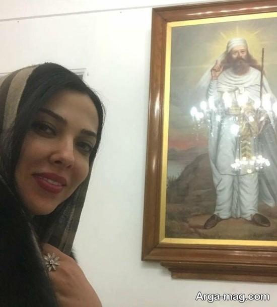 لیلا اوتادی در مسافرت
