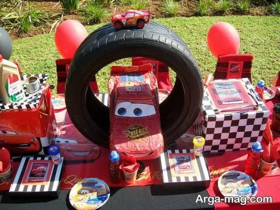 جشن تولد با تم کارتونی ماشین