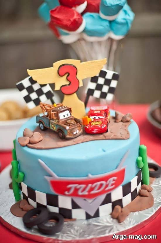 تزیینات کیک تولد