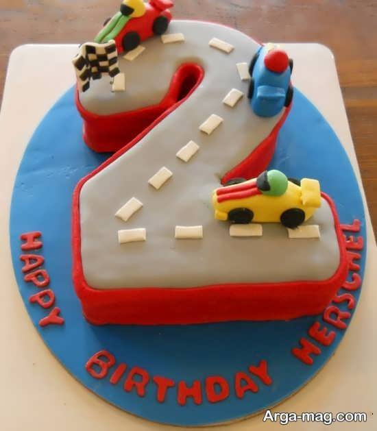 کیک با تم ماشین