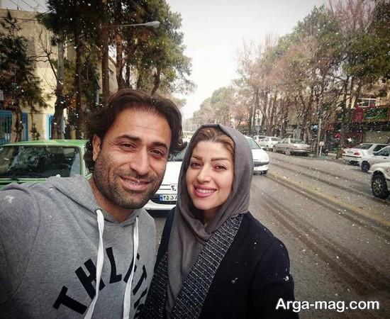 عکس های مهدی رجب زاده و همسرش