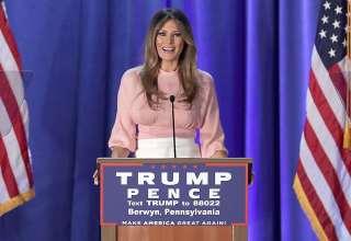 مدل جدید لباس ملانیا ترامپ و ایوانکا ترامپ در جشن سال نو میلادی