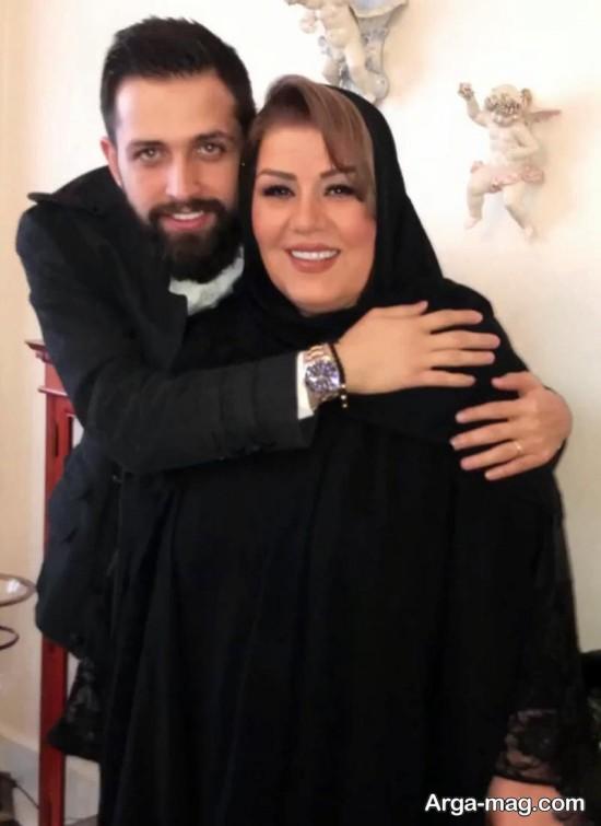 محسن افشانی و مادرزنش