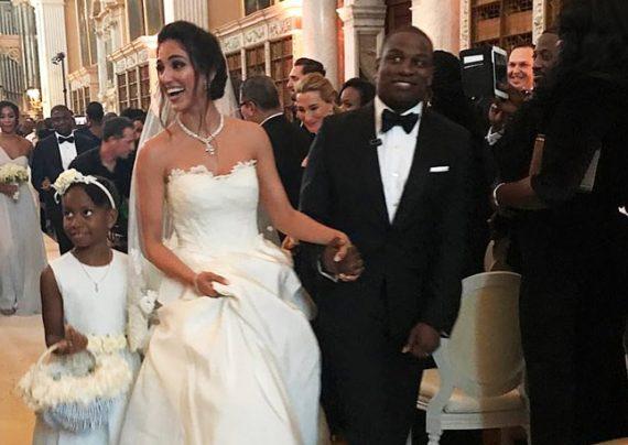 خانم مدل ایرانی با یک پسر سیاه پوست ازدواج کرد
