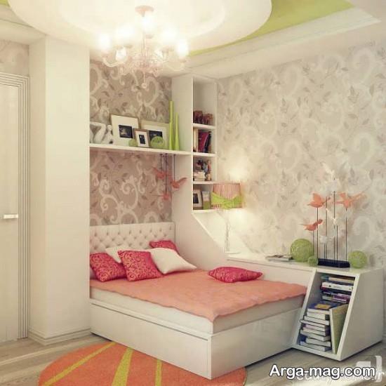اتاق دخترانه با دکور فانتزی