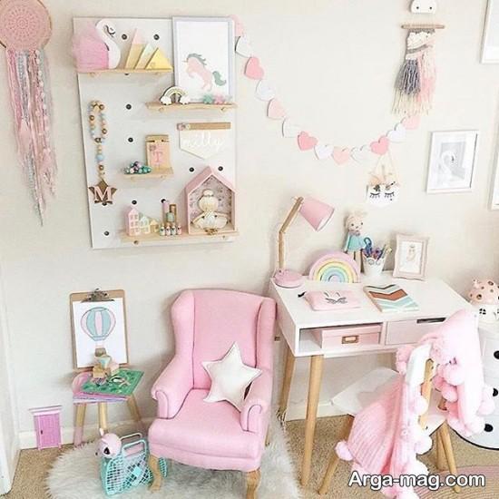 دکوراسیون اتاق دخترانه کوچک و خاص
