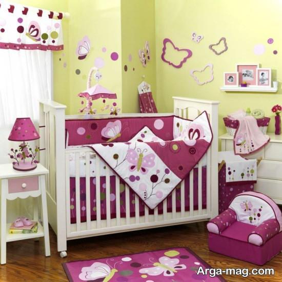 دکوراسیون اتاق کوچک نوزاد