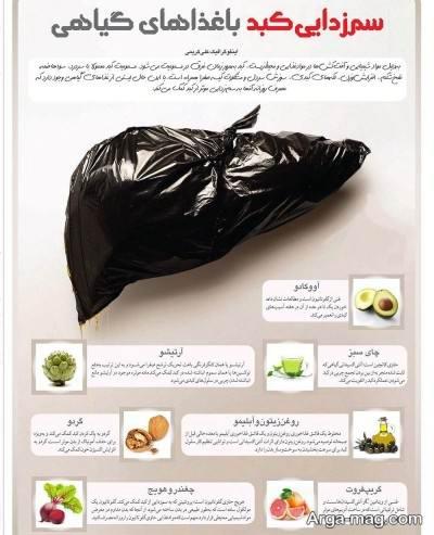 رژیم پاکسازی کبد در پنج روز