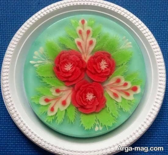 ژله تزریقی طرح گل