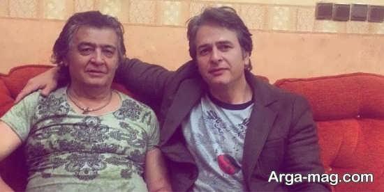 امیر تاجیک در کنار رضا رویگری