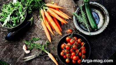 مضرات و مزایای رژیم گیاه خواری