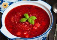 طرز تهیه سوپ برش