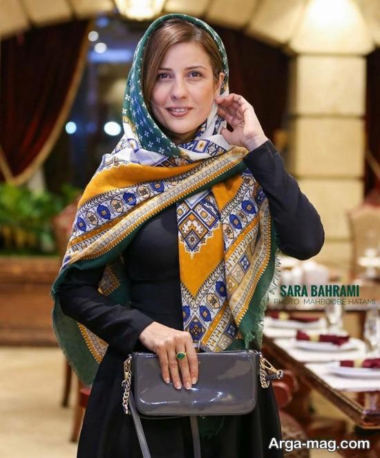سارا بهرامی بازیگر آینه های روبرو