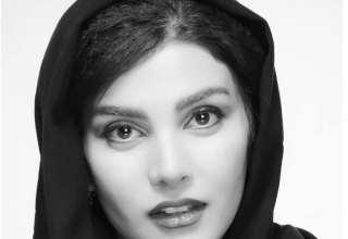 عکس های خاص سارا سهیلی با لباس قرمز