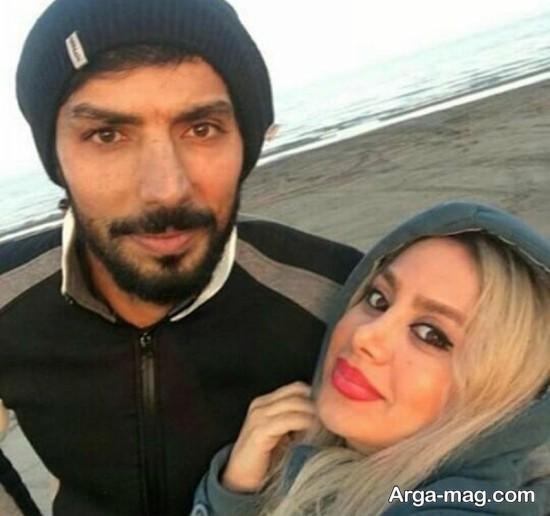 سید صالحی و همسرش