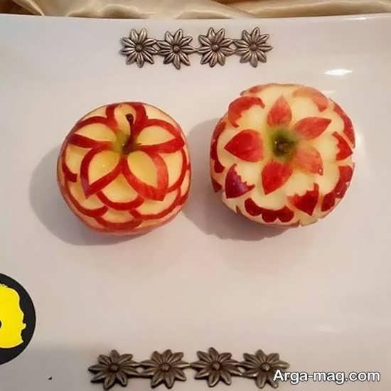 نمونه شیک میوه آرایی