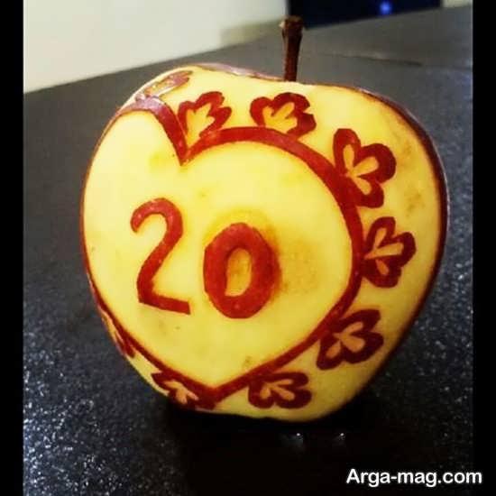 میوه آرایی جشن تولد