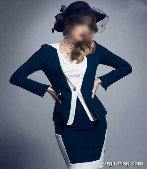 مدل کت و دامن زنانه 2018