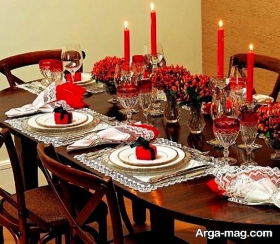 تزیین زیبای میز مهمانی پاگشا