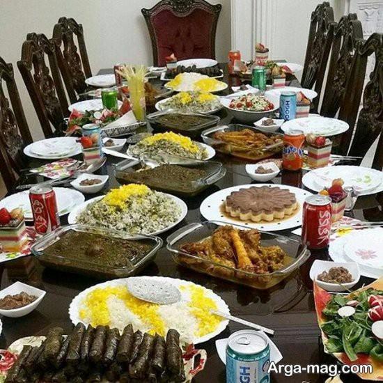 چیدن میز مهمانی پاگشا