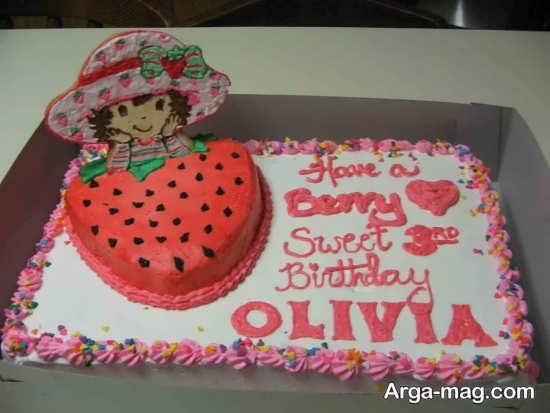 تزئین شیک و جدید کیک