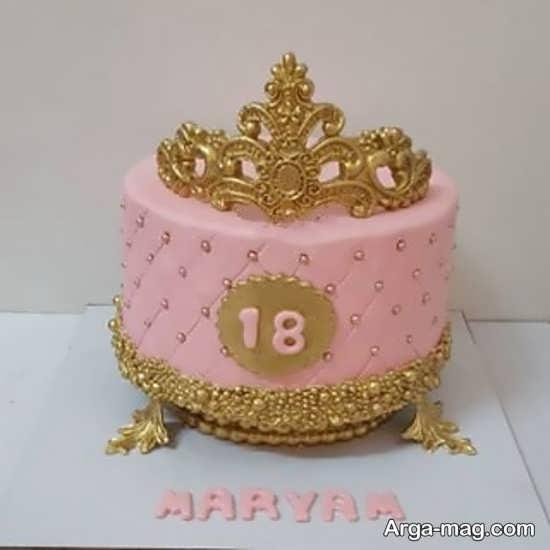 کیک تولد تم دار