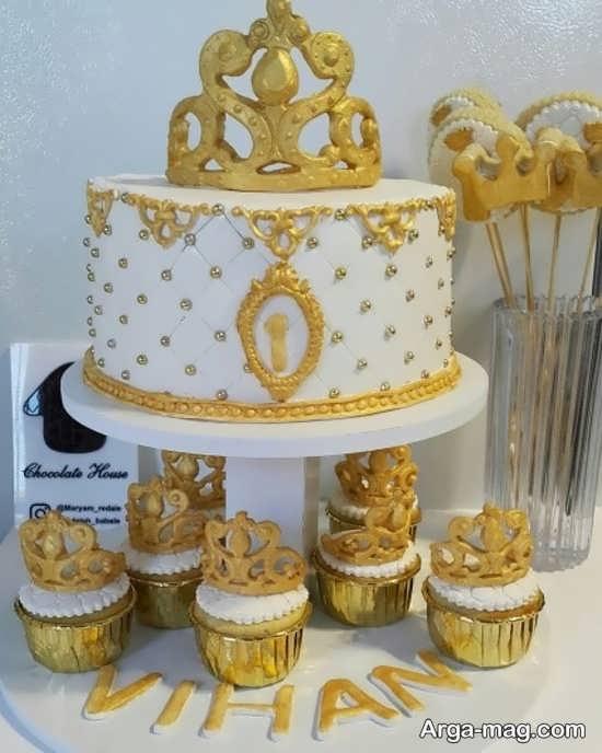 تزئین کاپ کیک با تم