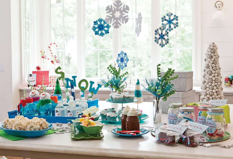 تم تولد آدم برفی جدید و زیبا برای جشن تولد کودکان و نوجوانان