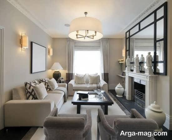 طراحی متفاوت پذیرایی منزل