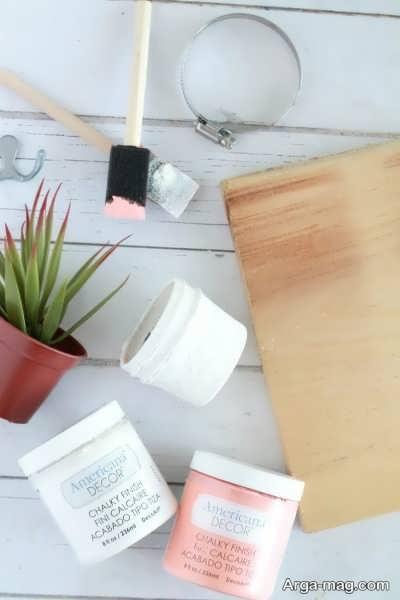 مواد لازم برای ساخت جاکلیدی چوبی دیواری