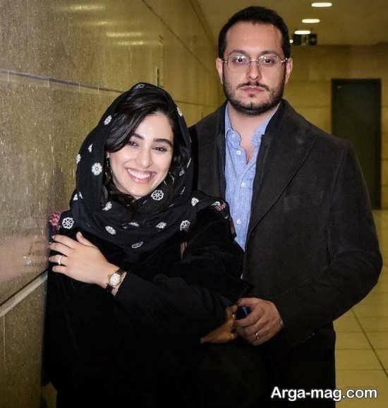 آناهیتا افشار و همسرش