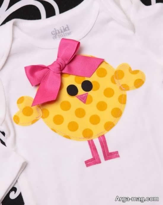 Applique on clothing 19 - مدل های تکه دوزی روی لباس با طرح های جدید و شیک
