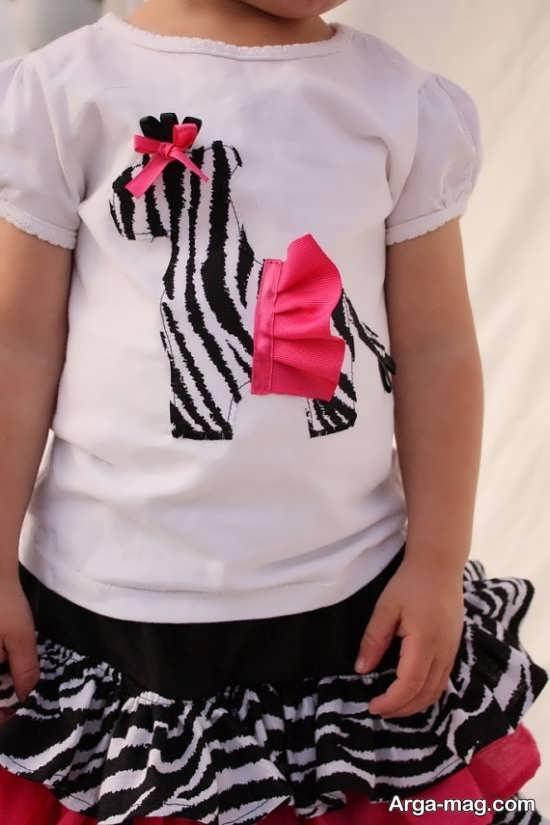 Applique on clothing 21 - مدل های تکه دوزی روی لباس با طرح های جدید و شیک
