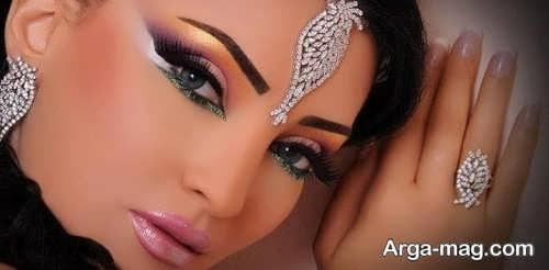 آرایش چشم زیبا عربی