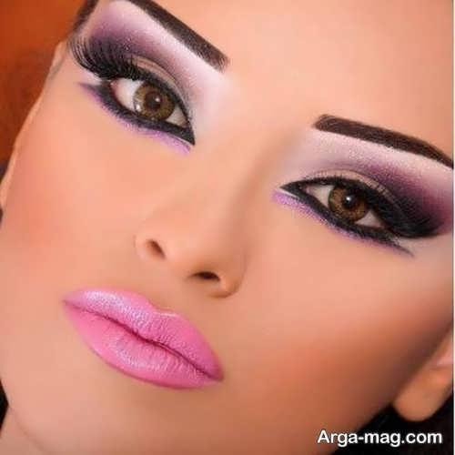 میکاپ چشم عربی